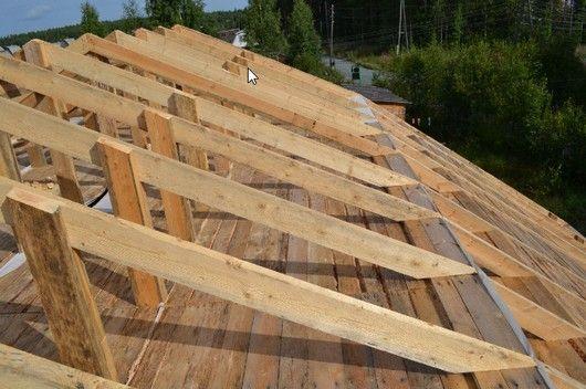 Доски для крыши