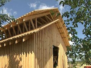 Виды материала для возведения деревянных домов