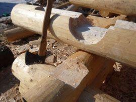 Древесина для рубки сруба